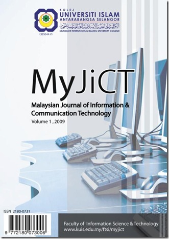 Cover MyJICT 2009