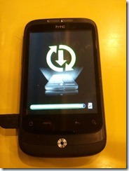 HTC Wildfire is updating
