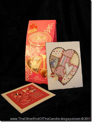V-Day Truffles and Cards