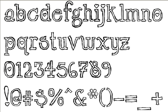 Final LT Chickenhawk Font