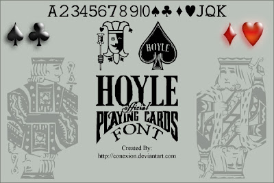 Hoyle Playing Cards Font