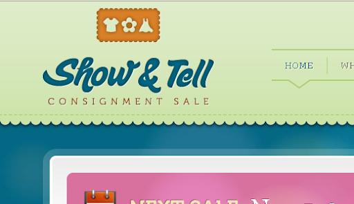 Visit Show & Tell Consignment Sale