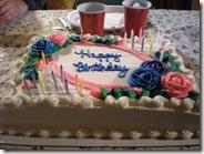 mmm cake!