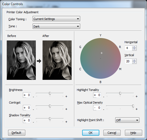 Settings or a warm toned black and white image