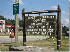 Thickety Community Churches