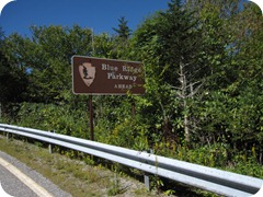 Welcome to the Blue Ridge Parkway!