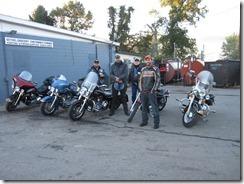 Bethel Half Marathon Motorcycle Escort Squad