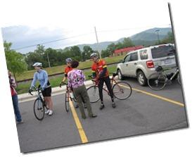 Pre-Ride socializing...