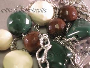 Marrone, panna e verde 2