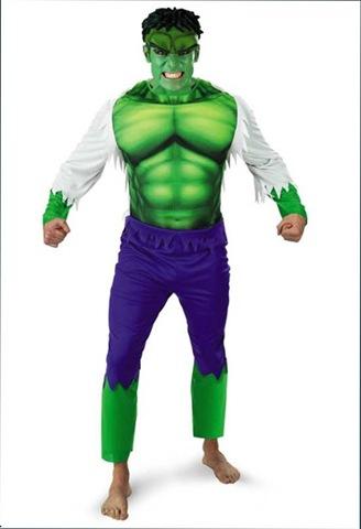 disfraz de increible hulk