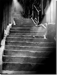 favela escada