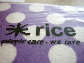 Rice dischcloths at the Job Factory in Basel