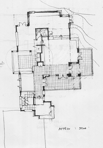 Main Floor Plan, Peary Road