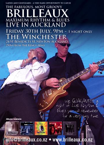 Brill Live poster