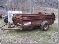 Newer Manure Spreader