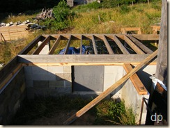 summer kitchen floor framing