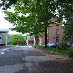 Side-street to the Historical Museum of Canton and the old Collins corporate building