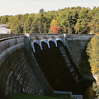 Nepaug Reservoir Dam in Canton, CT