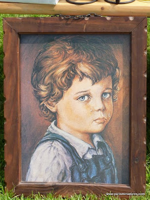 Portrait of a Crying Child