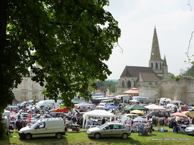 Brocante - Flea Market Scene