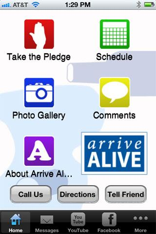 Arrive Alive App
