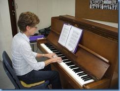Denise Gunson made the St Joseph's Church piano sound like a concert grand!