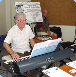 Gordon Sutherland playing the very latest Korg Pa3X arranger keyboard.