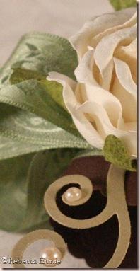 rose napkin ring sneak