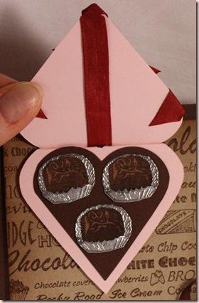 spencers chocolate card closeup1