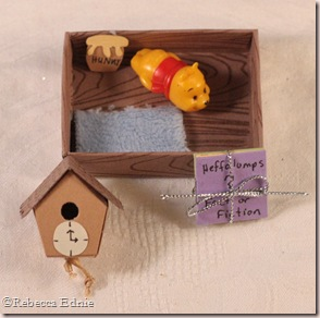 pooh matchbox drawer