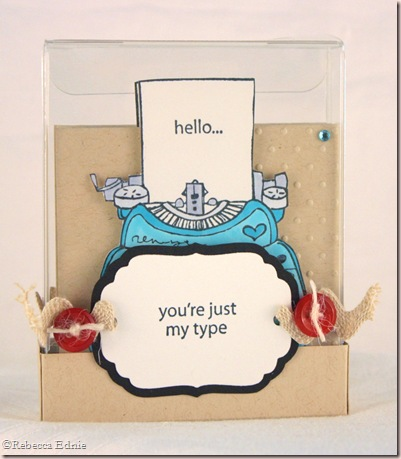 type card set boxed