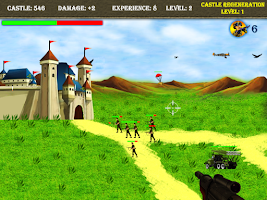 Screenshot of King Castle Shooting Games