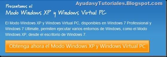 Obtenga Ahora el Modo de Compatibilidad XP