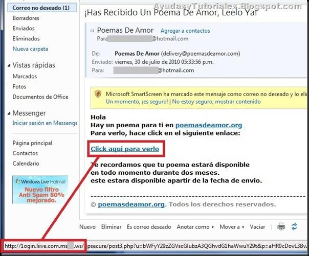 Poema Phishing - AyudasyTutoriales