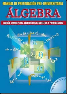 Álgebra - Manual de preparación Pre-Universitaria