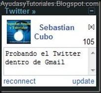 Twitter en Gmail - AyudasyTutoriales