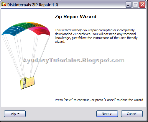 Zip Repair - AyudasyTutoriales