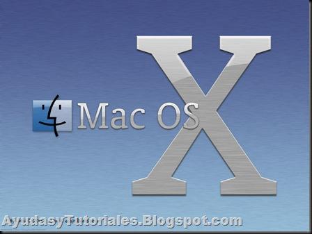 Logo Mac Os X - AyudasyTutoriales