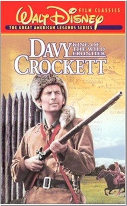 Davy Crockett King of Wild Frontier DVD Cover