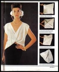 blusa de quadrados
