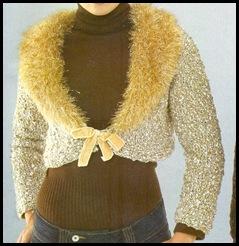 casaqueto dourado