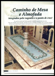 Caminho de mesa e almofada 1-710010