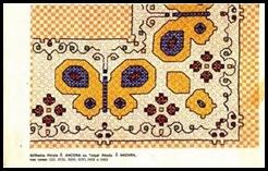 bordado tecido xadrez 40 - livro 24