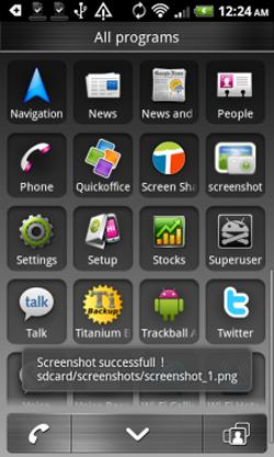 myTouch 4G Screen
