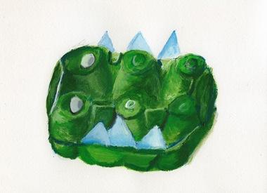 eggbox croc