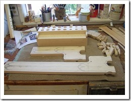 Organ sides ready to carve