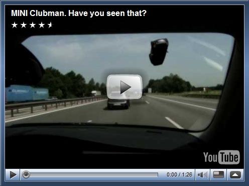 Video de divulgação do Mini Clubman no Reino Unido