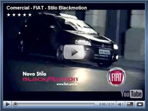 Comercial FIAT Stilo Blackmotion