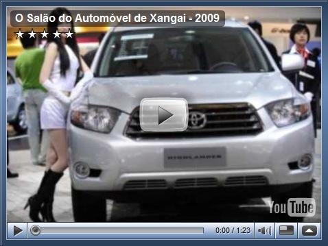 Os principais carros do Salão de Xangai