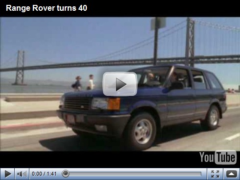 Video – Land Rover Range Rover comemora 40 anos